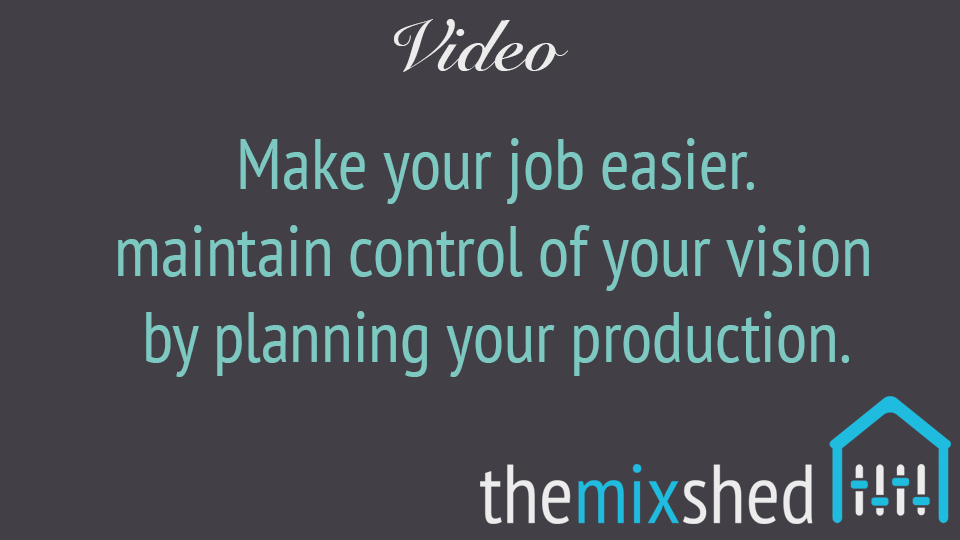 Video: Planning Your Productions