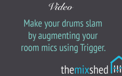 Create Massive Sounding Drum Rooms Using Slate Trigger